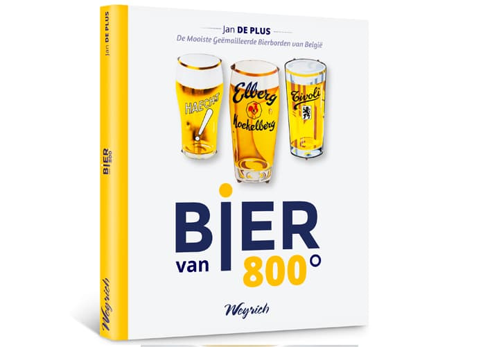 Book cover Bier van 800°