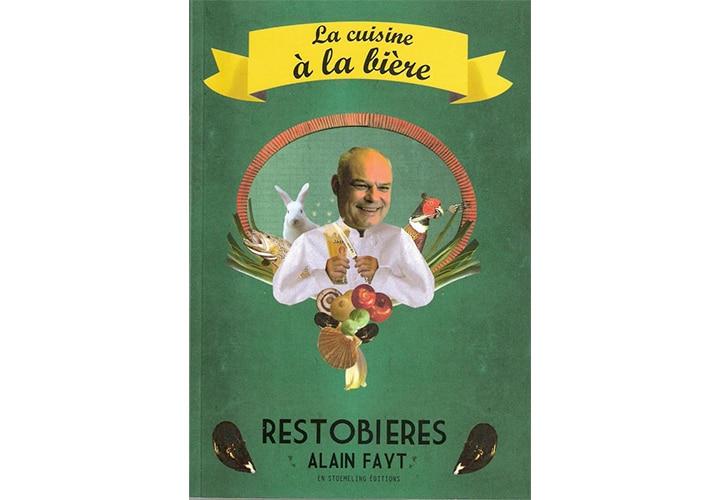 Book cover La cuisine a la bière_FR
