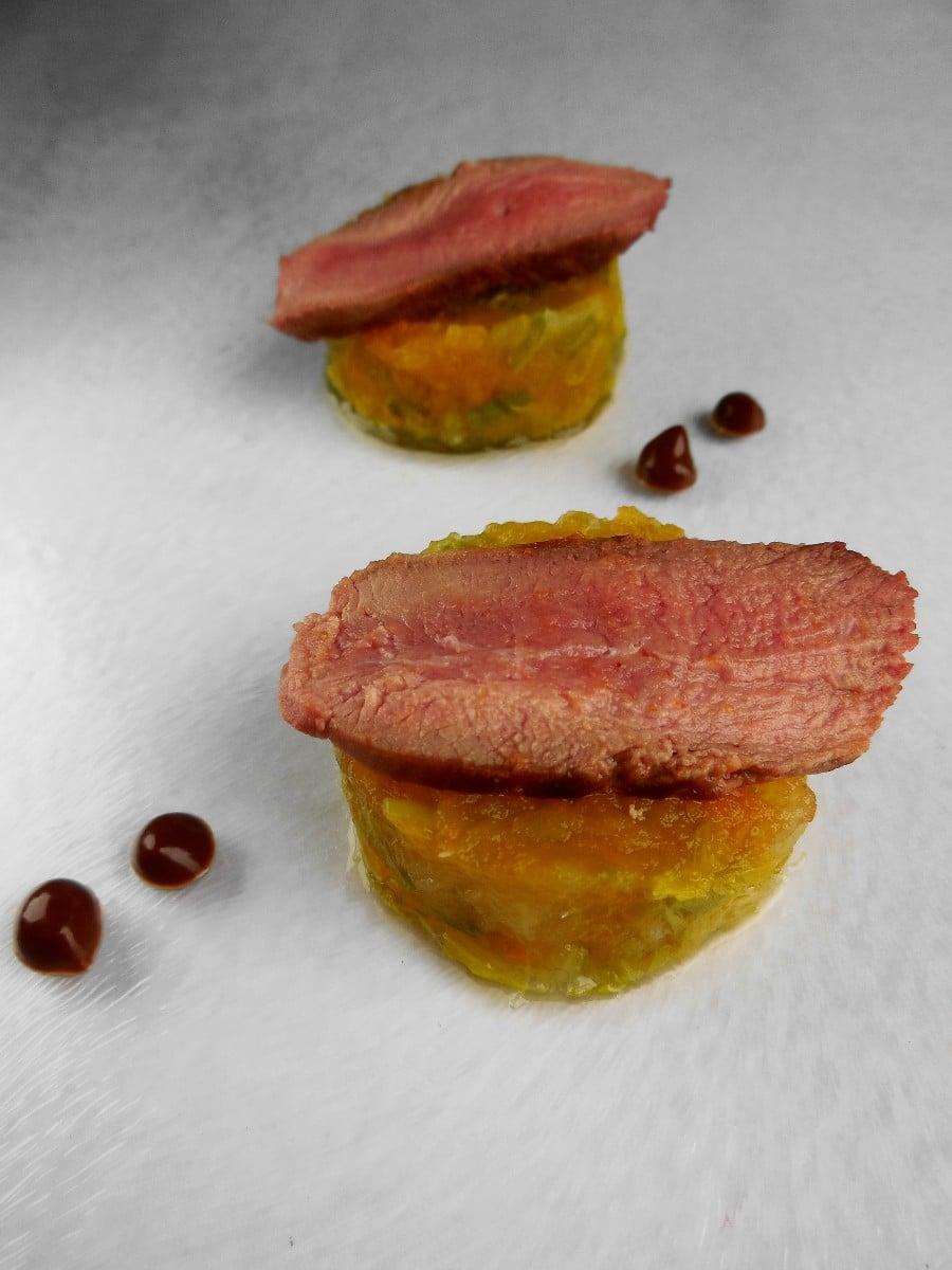 Foodpairing Eendenborstfilet chocolade- & peperkoeksaus - Magret de canard au chocolat & pain d'epices