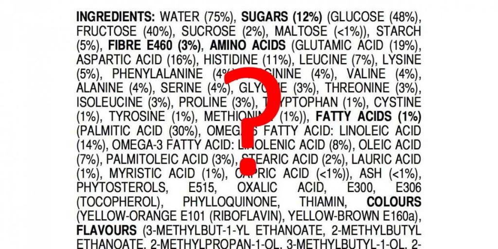 Ingredientlist