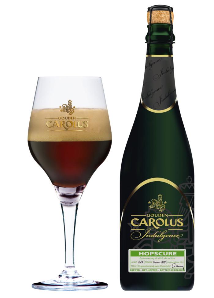 Gouden Carolus Indulgence 2018 - Hopscure 75cl bottle glass