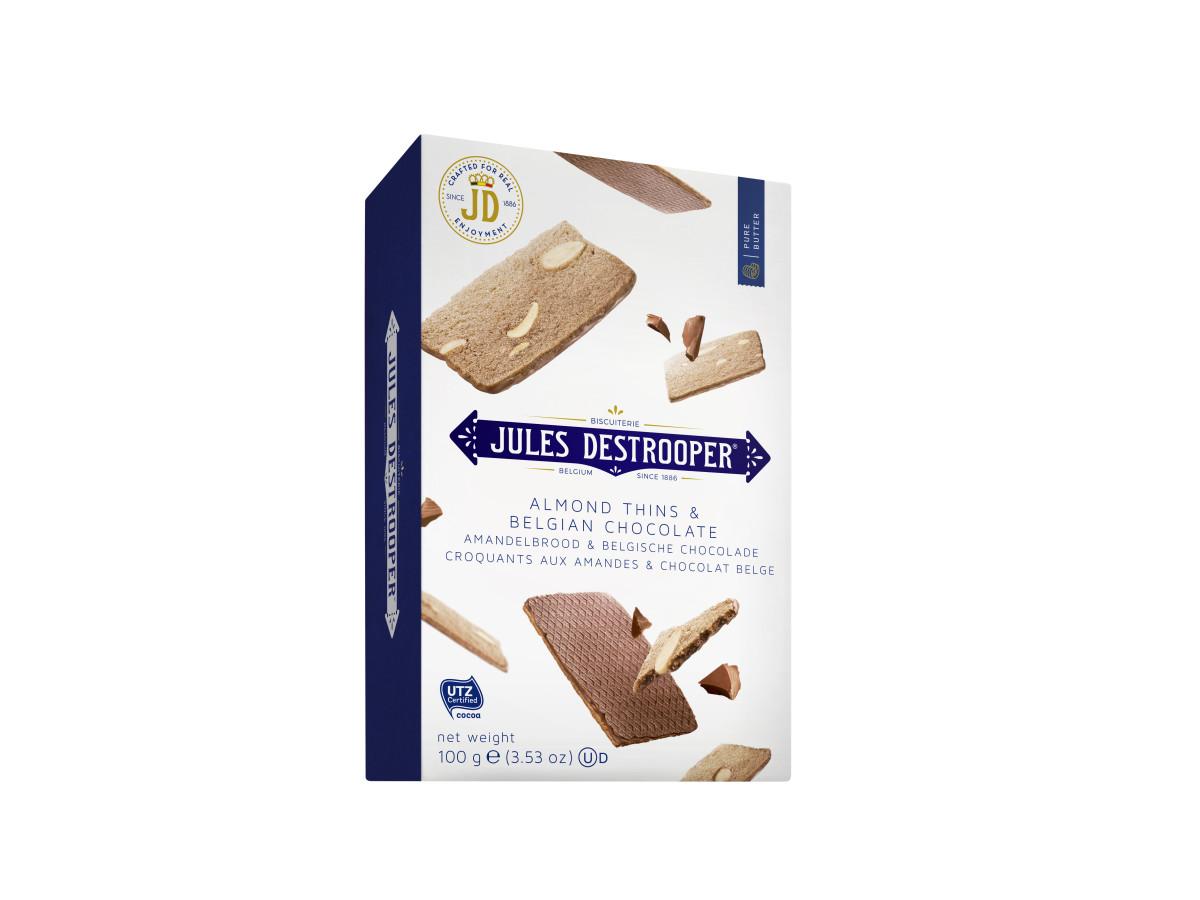 71AC100BE Amandelbrood en Belgische Chocolade