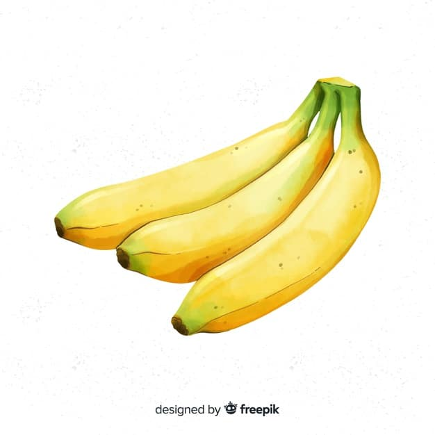 aquarel-bananen-achtergrond_52683-10328