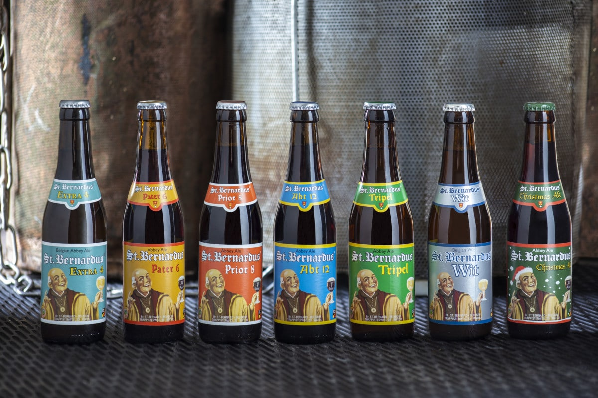 St.Bernardus 33cl bottles_without Watou Tripel_2