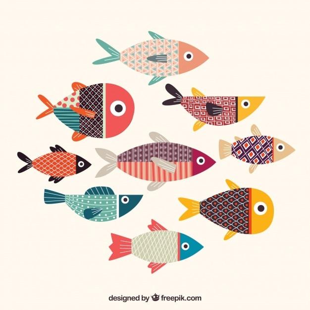kleurrijke-visseninzameling-met-textuur_23-2147806214