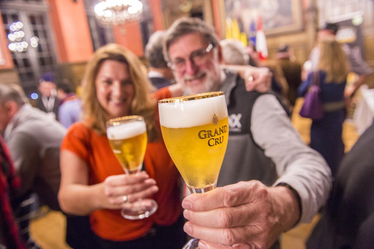 Welkomstreceptie Brussels Beer Challenge 2019 Mons