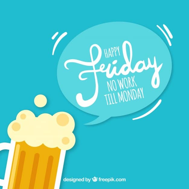 happy-friday-background-with-beer_23-2147652810
