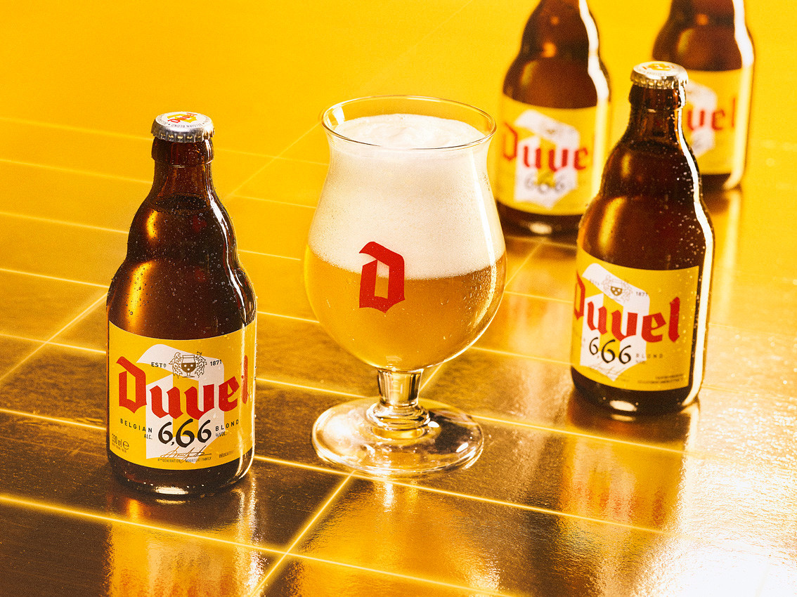 Duvel 6_66 visual with glow